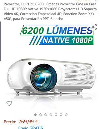 proyector 2600lm 1080 nativo.NUEVO