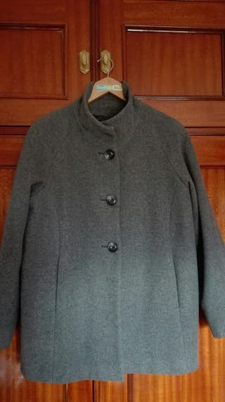 Abrigo mujer gris