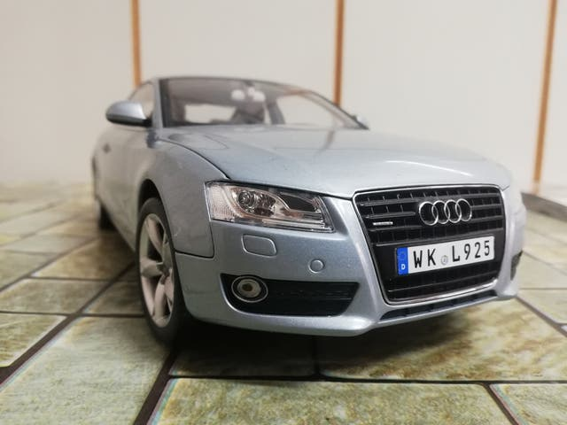 Maqueta Audi A5, 1/18 Norev