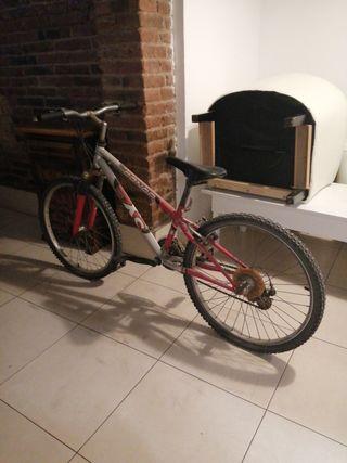 bicicleta btt junior