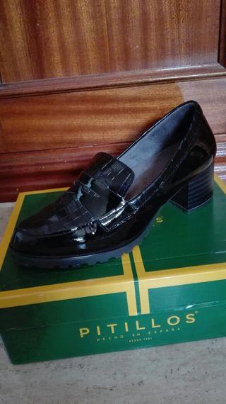 Zapato mujer coco negro