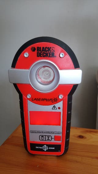 BLACK&DECKER nivel laser + detector de corriente