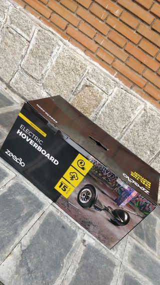 Patinete eléctrico - Hoverboard zeeclo H3 Carbono