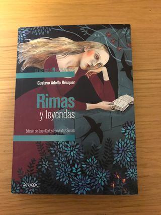 RIMAS Y LEYENDAS. Gustavo Adolfo Bécquer