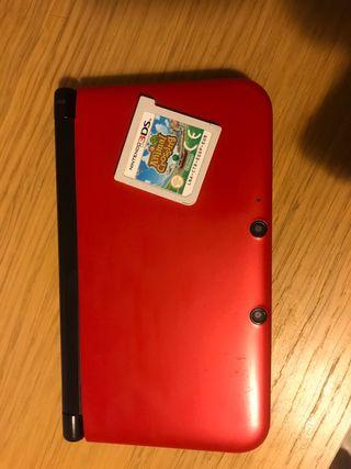 NINTENDO 3DS XL ROJA.