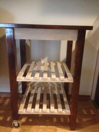 Mueble camarera madera maciza