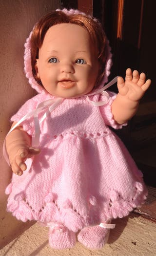 Muñeca Berenguer con ropa hecha a mano
