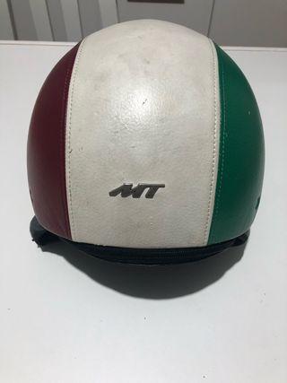 Casco Moto piel Italia MT S