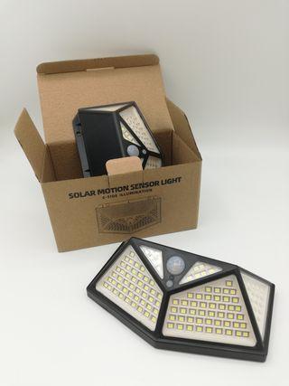 led Luz solar