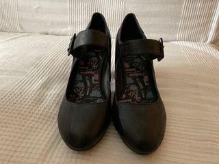 Zapato tacón pulsera