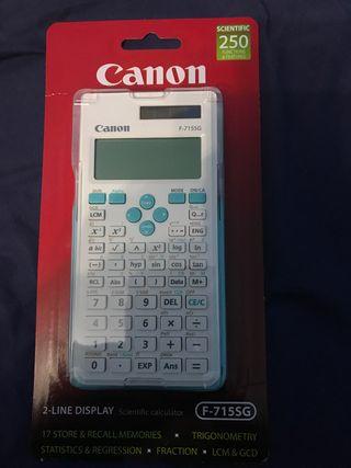 Calculadora CANON NUEVA A ESTRENAR