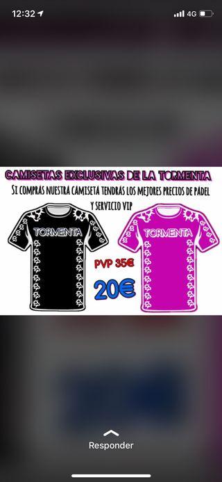 Camiseta Alta Gama La Tormenta