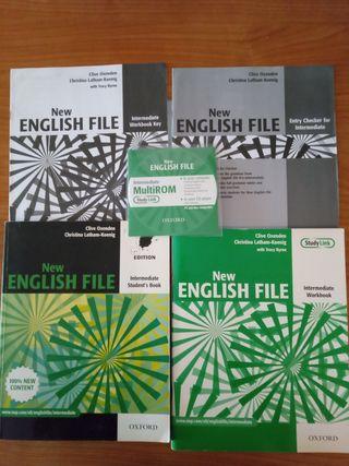 Libros inglés New English File