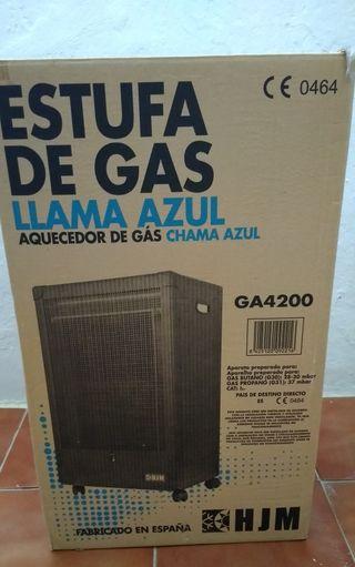 Estufa de gas llama azul HJM