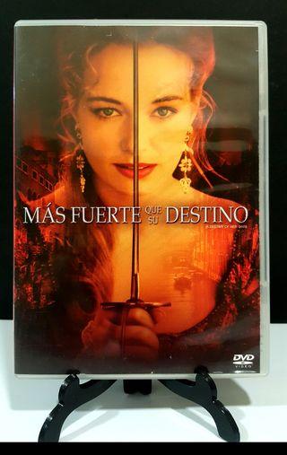 MÁS FUERTE QUE SU DESTINO dvd