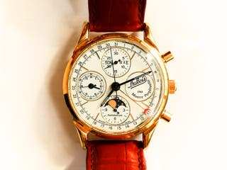 "Reloj lujo Dubois 1785 ""Le Locle"" oro macizo 18 k"
