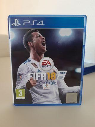 FIFA 18 para tú PS4