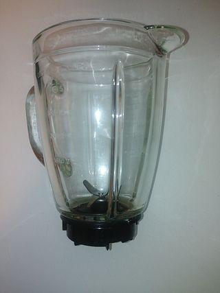 vaso de cristal para batidora Saivod.