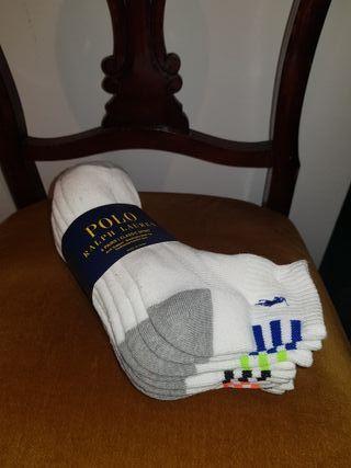 Pack 6 pares calcetines hombre Polo Ralph Lauren