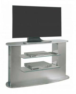 Mesa television salon mueble auxiliar TV gris