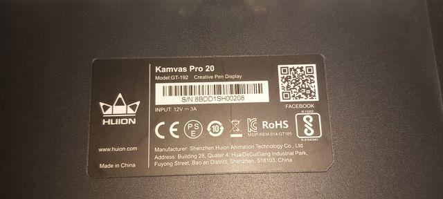 Huion Kamvas Pro 20