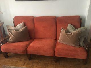 Conjunto sofa de 3 plazas + 2 sillones