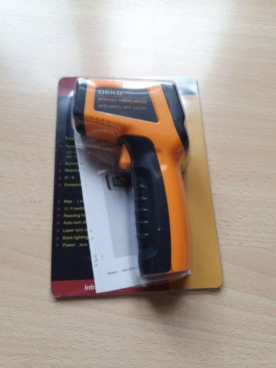 Pistola termometro infrarojos
