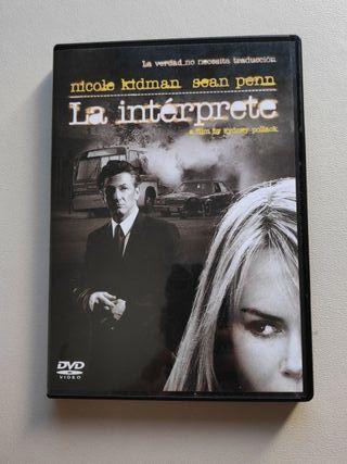 DVD La intérprete