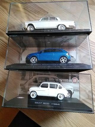 3 seat miniatura colección