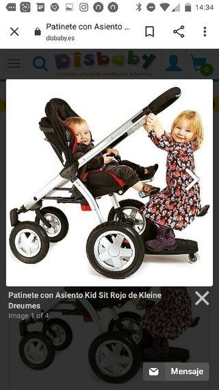 Patinete carro kid-sit