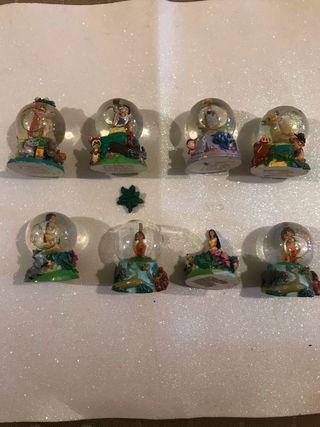 Bolas pequeñas coleccion Disney globo agua