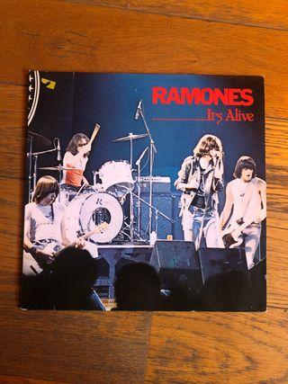 Vinilo 2xLP. RAMONES -it's Alive-