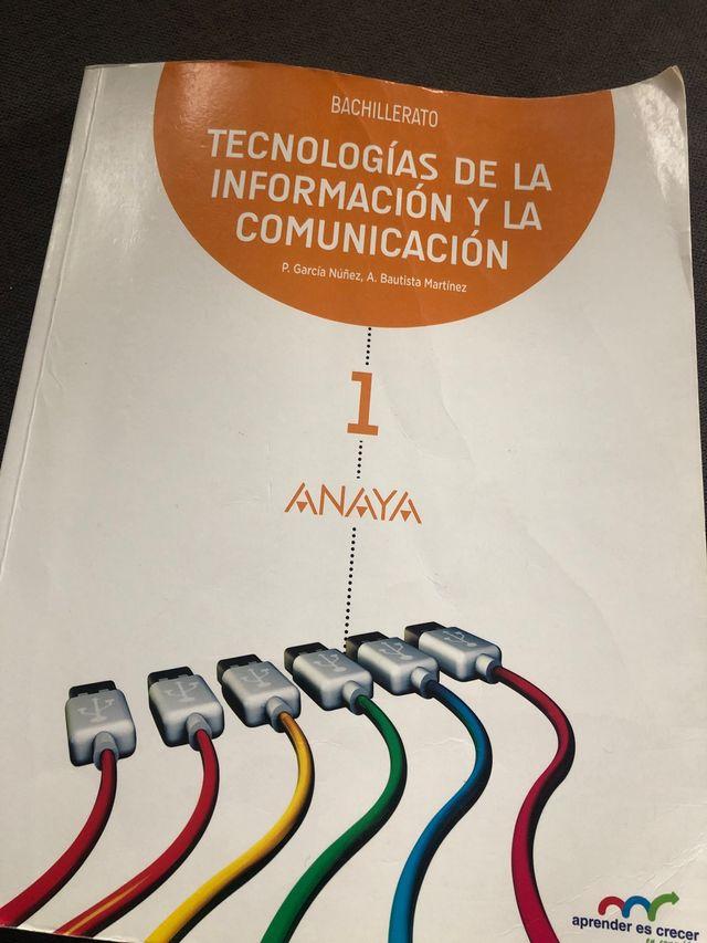LIBRO TECNOLOGÍA ANAYA 1° BACHILLERATO