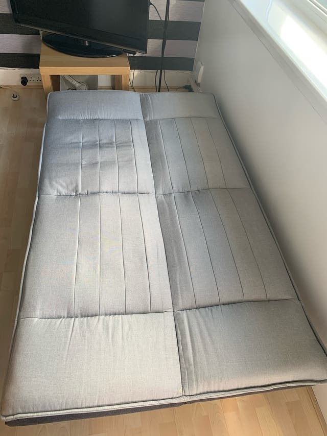 Sofa bed & mattress topper 7cm