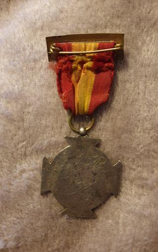 Medalla voluntarios de Navarra. 1936