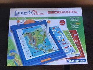 Juego conecta geografia