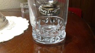 Vasos de whisky de cristal de Bohemia tallados