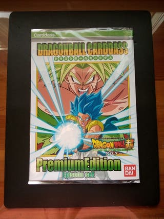 Dragon Ball Carddass Premium Episode Set.