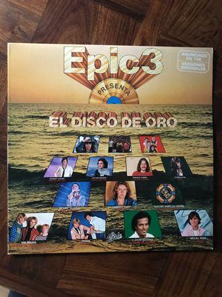 Vinilo Recopilatorio El Disco de Oro de Epic3
