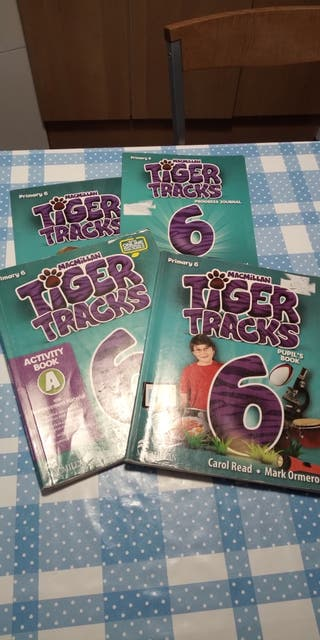 libro de inglés 6' primaria. Tiger