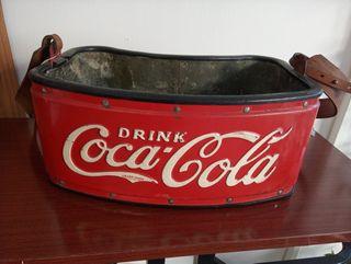 Nevera venta ambulante Coca Cola años 30