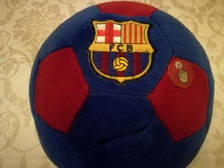 Pelota de peluche del Barça. Nueva