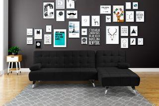 Sofá-cama chaise-longue (AROA) - 240x160cm