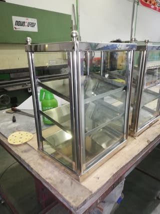 vitrina para gofres o churro relleno