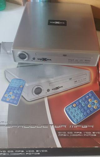 REPRODUCTOR DVD UPXUS CON MANDO
