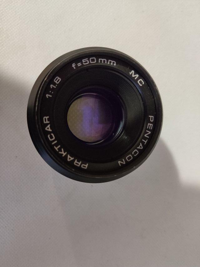 Objetivo Pentacon Prakticar 50mm F1.8