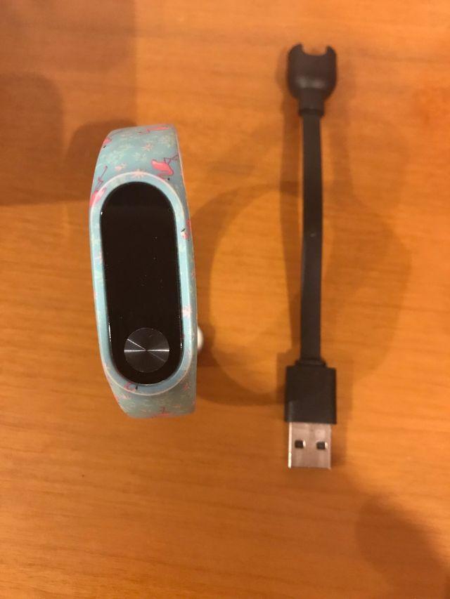 Pulsera Xiaomi Mi band 2 con cargador