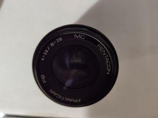Objetivo Pentacon Prakticar 70-210mm F4-5.6
