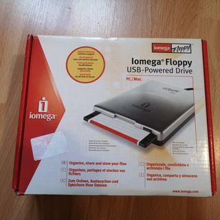Disquetera externa por USB Iomega Floppy