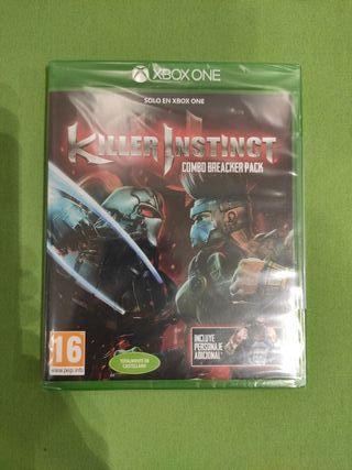 killer Instinct nuevo sin abrir. Xbox One.